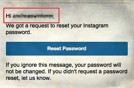 Instagram Benutzernamen vergessen?