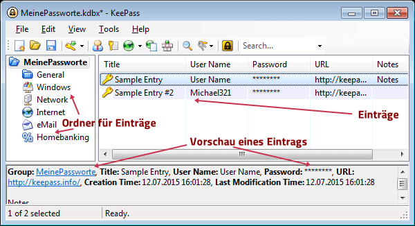 KeePass 2 Password Safe